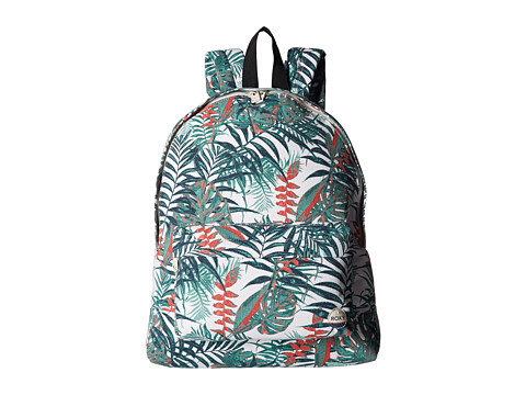 Roxy Sugar Baby Canvas Backpack - Marshmallow Jungly Flower