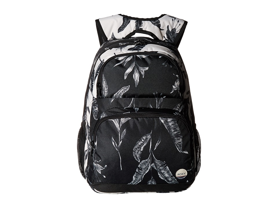 Roxy Shadow Dream Backpack (Anthracite Love Letter) Backpack Bags