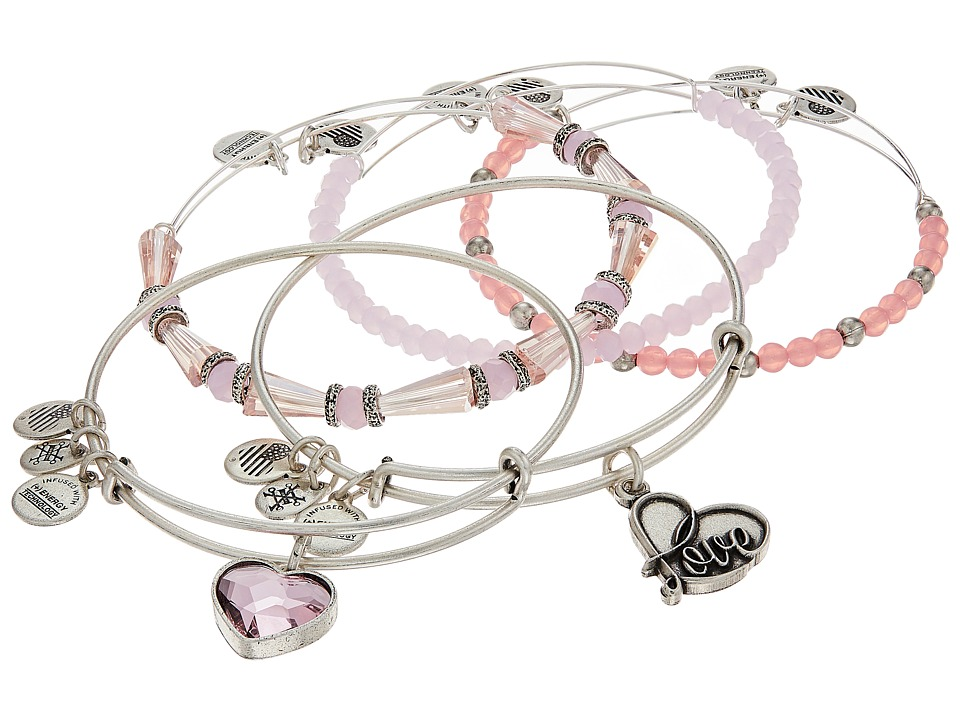 Alex and Ani Alex and Ani - Love Is In The Air - Alive with Love Set of Five