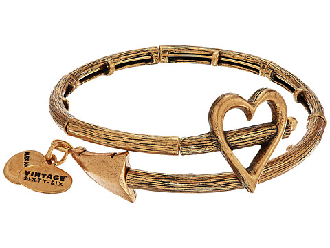 Alex and Ani Love Is In The Air - Cupid s Arrow Wrap - Rafaelian Gold Finish