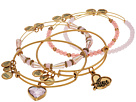 Alex and Ani Alive with Love Set of Five