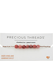 Alex and Ani - Precious Threads Rhodonite Gemstone Petunia Braid