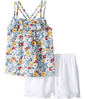 Ralph Lauren Baby - Twill Floral Top Shorts Set (Infant)