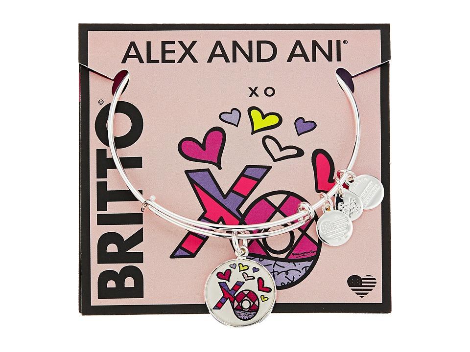 Alex and Ani - XO Art Infusion Charm Bangle - Romero Britto