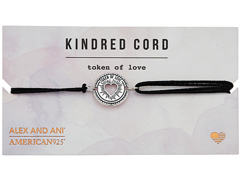 Alex and Ani Cosmic Love Kindred Cord Bracelet - Token of Love Sterling Silver