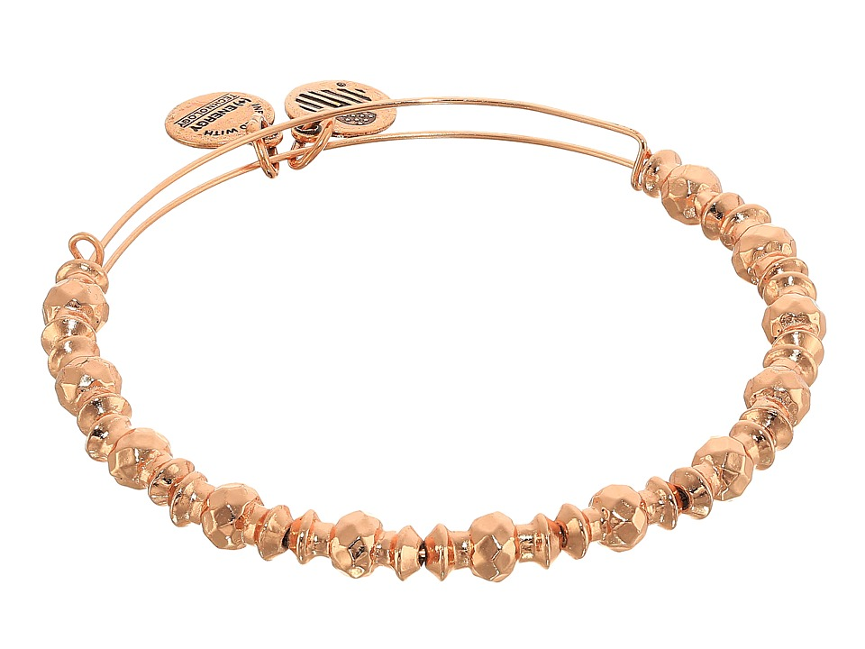 Alex and Ani - Canyon Bangle (Shiny Rose Gold Finish) Bracelet