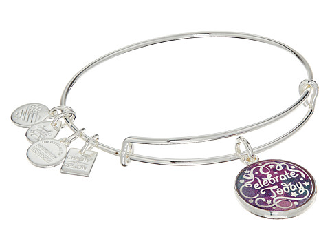 Alex and Ani Charity By Design Celebrate Today - American Cancer Society Bracelet - Shiny Silver Finish