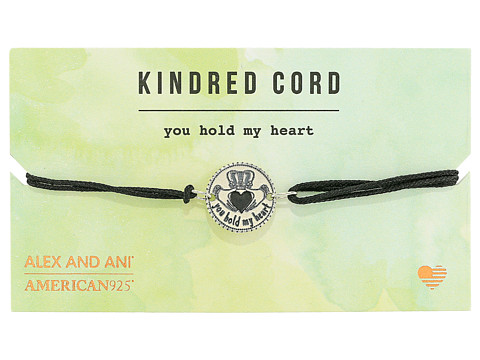 Alex and Ani Cosmic Love Kindred Cord Bracelet - You Hold My Heart Sterling Silver