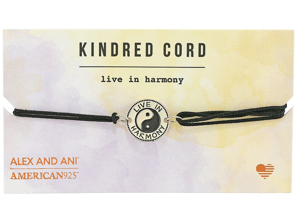 Alex and Ani - Cosmic Love Kindred Cord Bracelet (Live in Harmony Sterling Silver) Bracelet