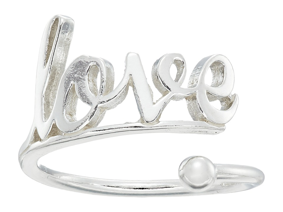Alex and Ani - Love Ring Wrap - Precious Metal (Sterling Silver) Ring