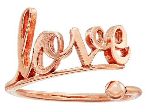 Alex and Ani Love Ring Wrap - Precious Metal - 14kt Rose Gold Plate