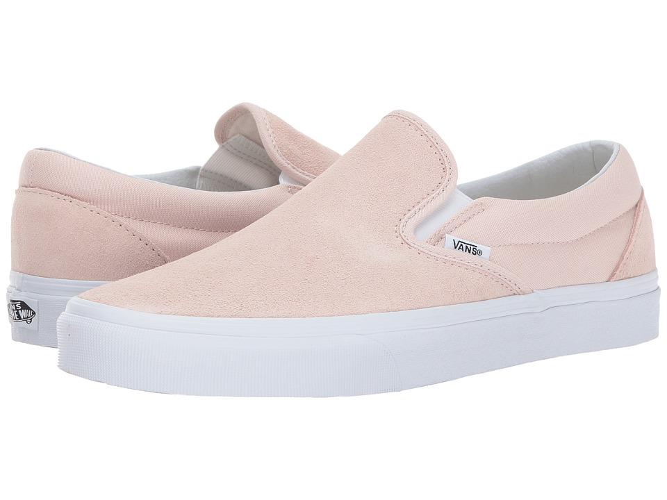 Vans Classic Slip-Ontm ((Suede) Sepia Rose) Skate Shoes