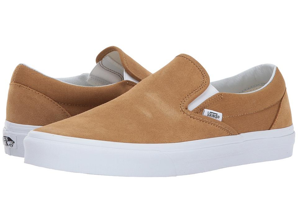 Vans Classic Slip-Ontm ((Suede) Medal Bronze) Skate Shoes