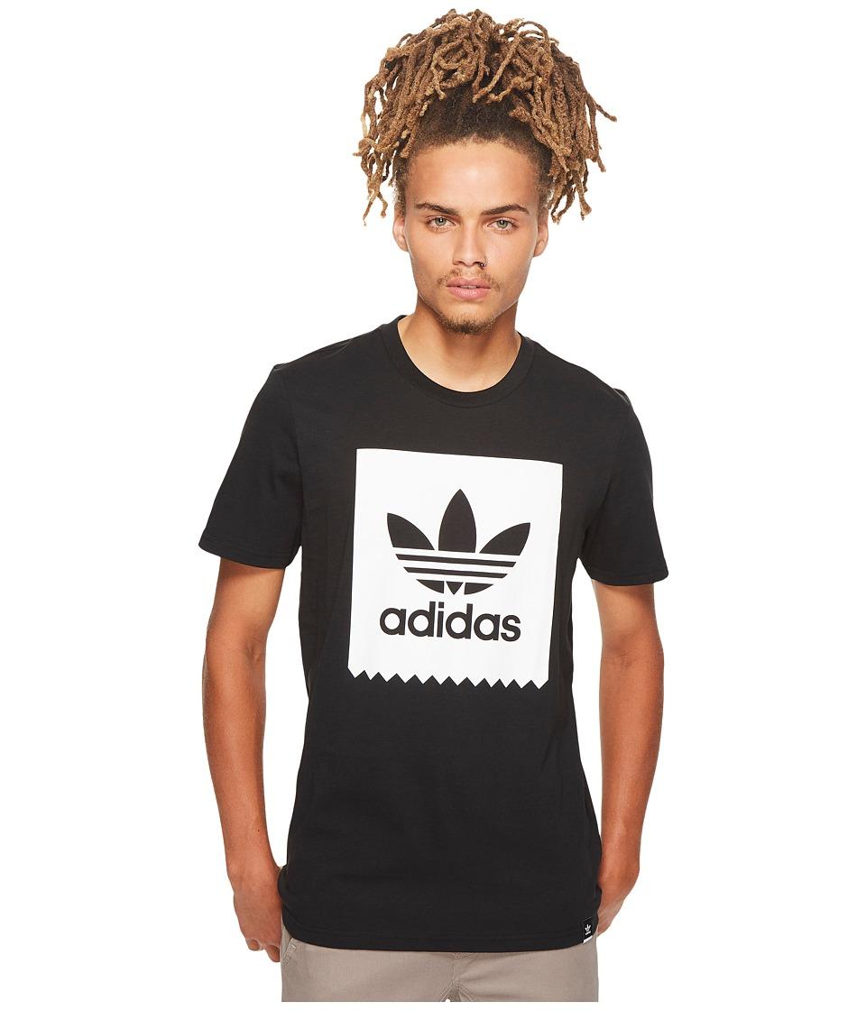 adidas Skateboarding Solid Blackbird Tee (Black) Men