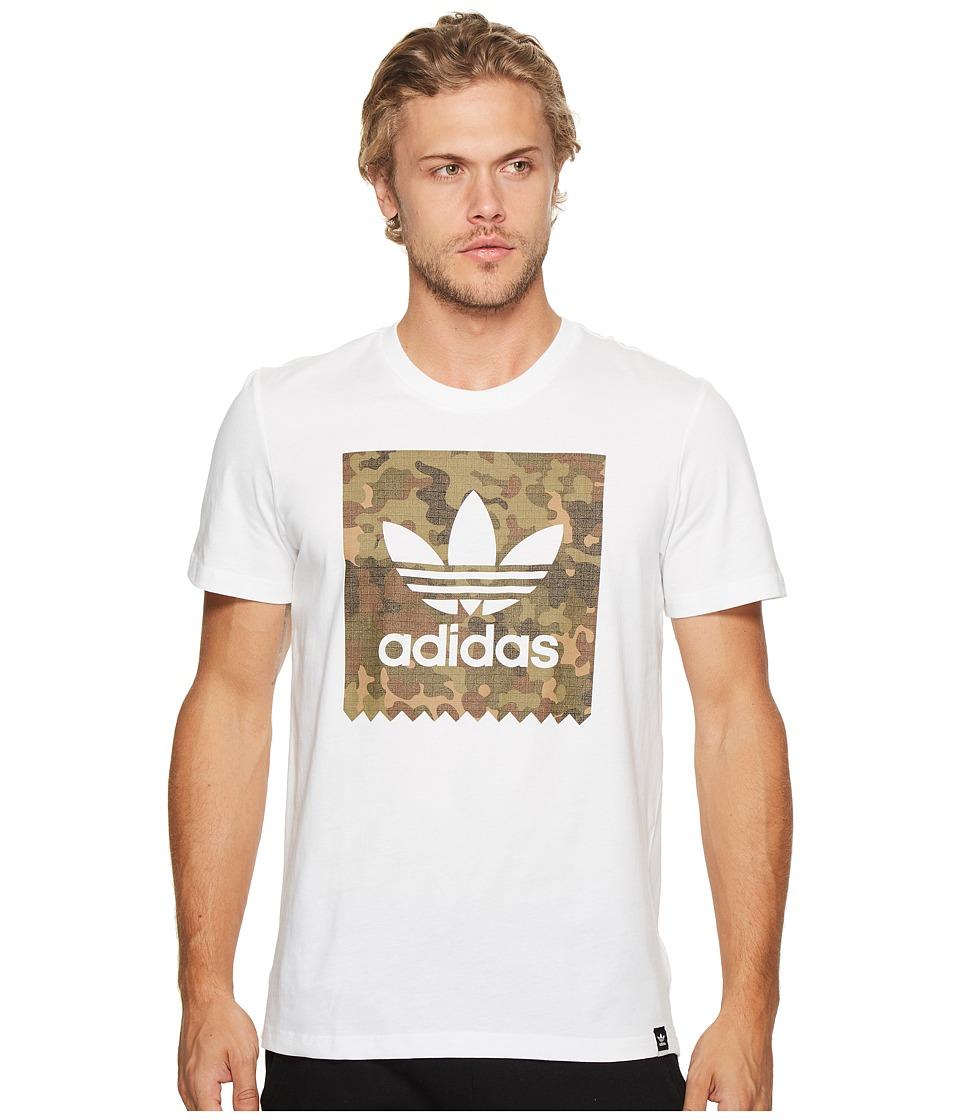 adidas Skateboarding Blackbird Camo Tee (White) Men