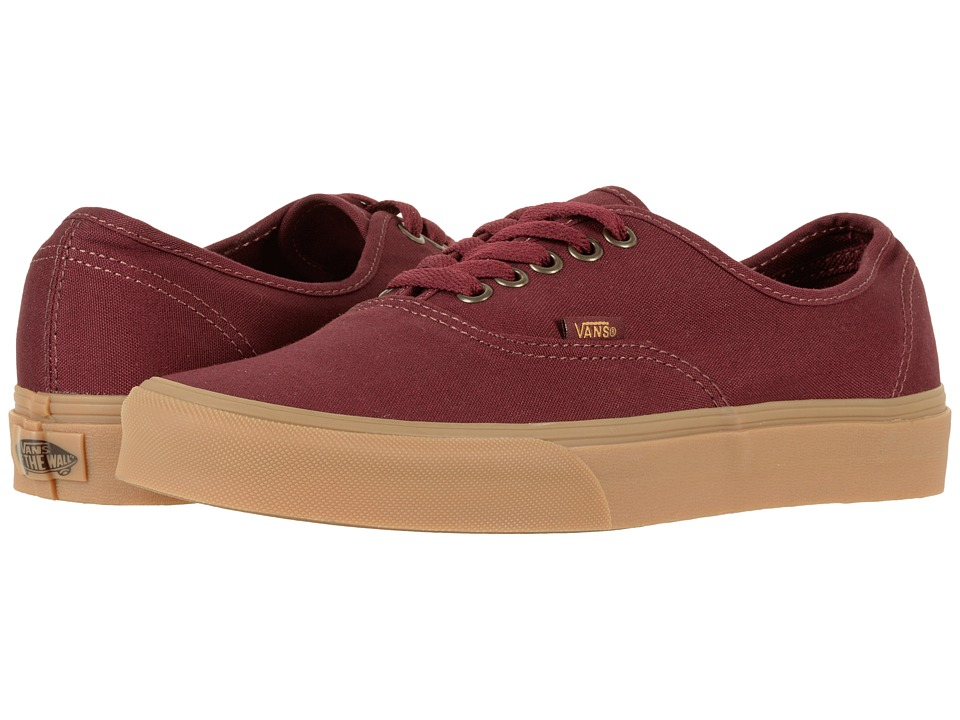 Vans Authentictm ((Light Gum) Port Royale) Skate Shoes