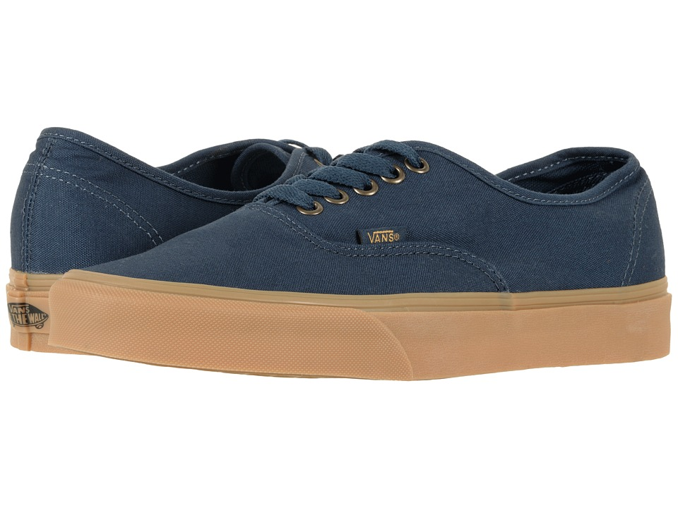 Vans Authentictm ((Light Gum) Dress Blues) Skate Shoes