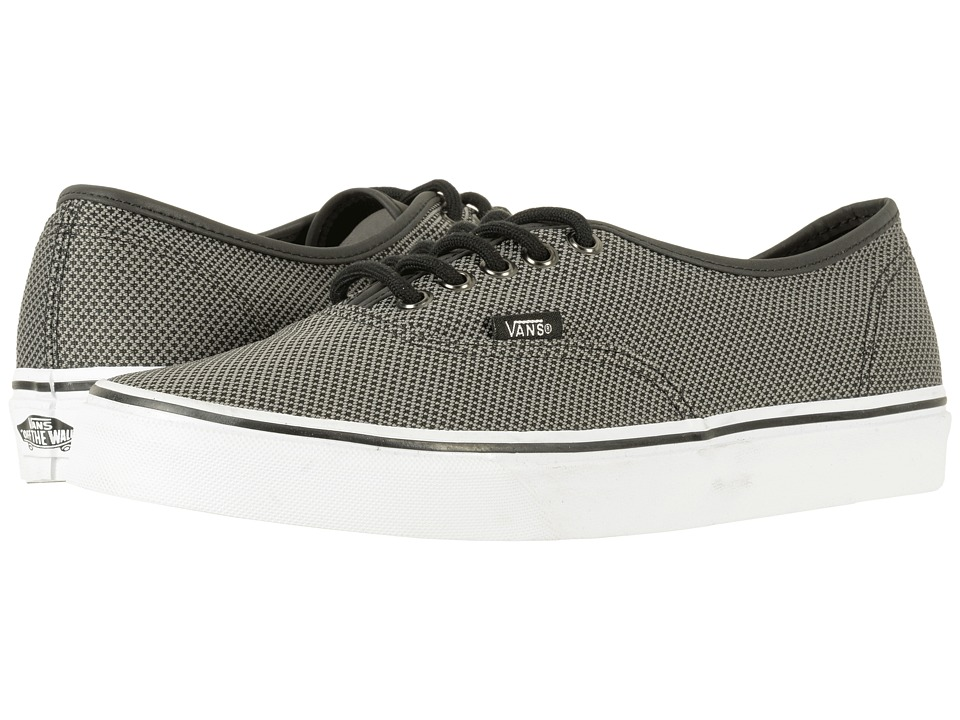 Vans Authentictm ((Reflective) Black) Skate Shoes