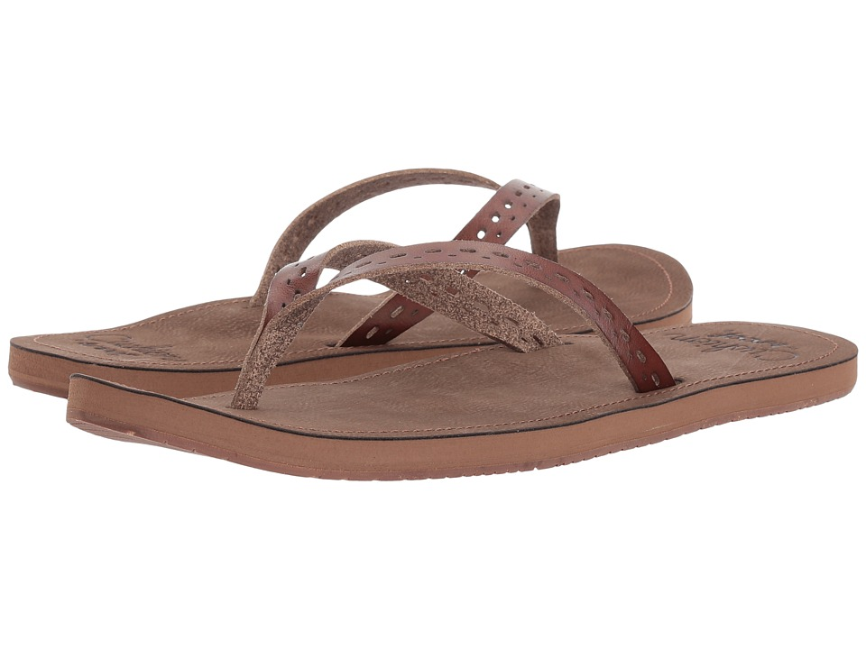 Reef - Cushion Joanie (Caramel) Women's Sandals