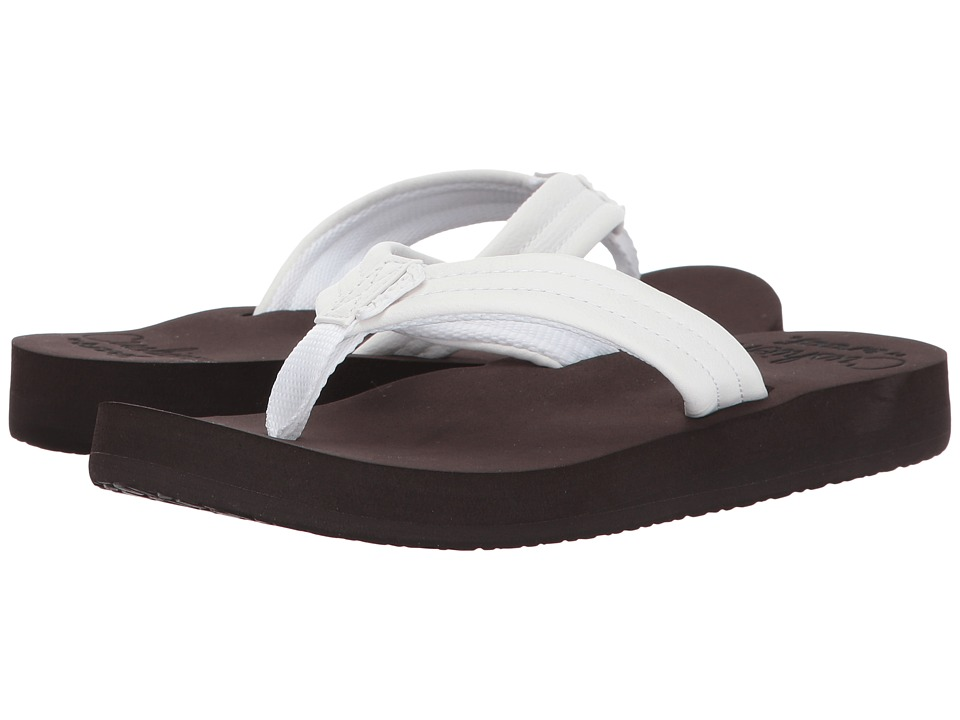 Reef - Cushion Breeze (Brown/White) Women's Sandals