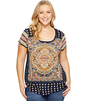 Lucky Brand - Plus Size Persian Carpet Tee