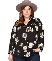 Lucky Brand - Plus Size Fringe Neck Blouse
