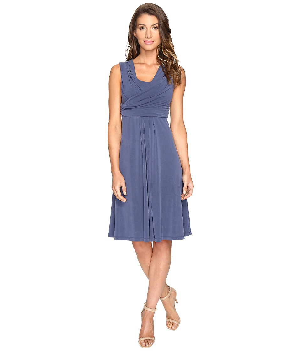 NIC+ZOE City Retreat Dress (Indigo) Women