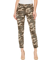 Jag Jeans - Ryan Skinny in Olive Camo Printed Twill with Side Zippers