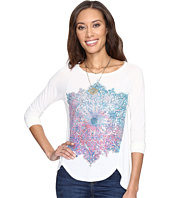 Lucky Brand - Photo Mandala Top