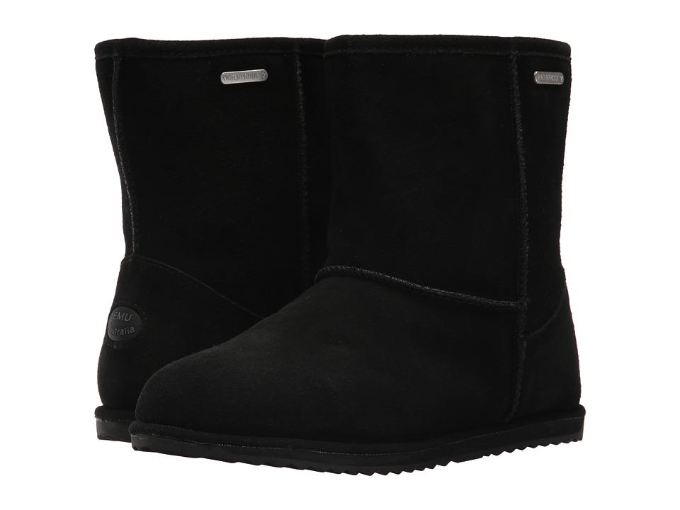 EMU Australia Kids Brumby Lo Teens Waterproof (Big Kid) (Black) Kids Shoes