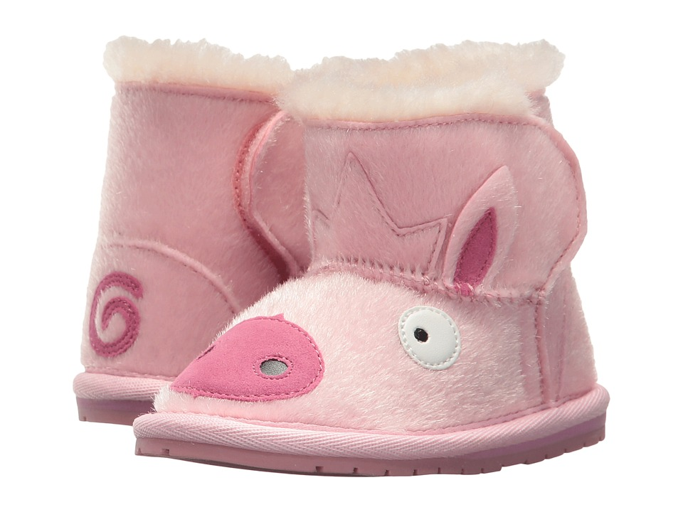 EMU Australia Kids Piggy Walker (Infant) (Pale Pink) Girls Shoes