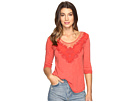 Lucky Brand - Washed Applique Top