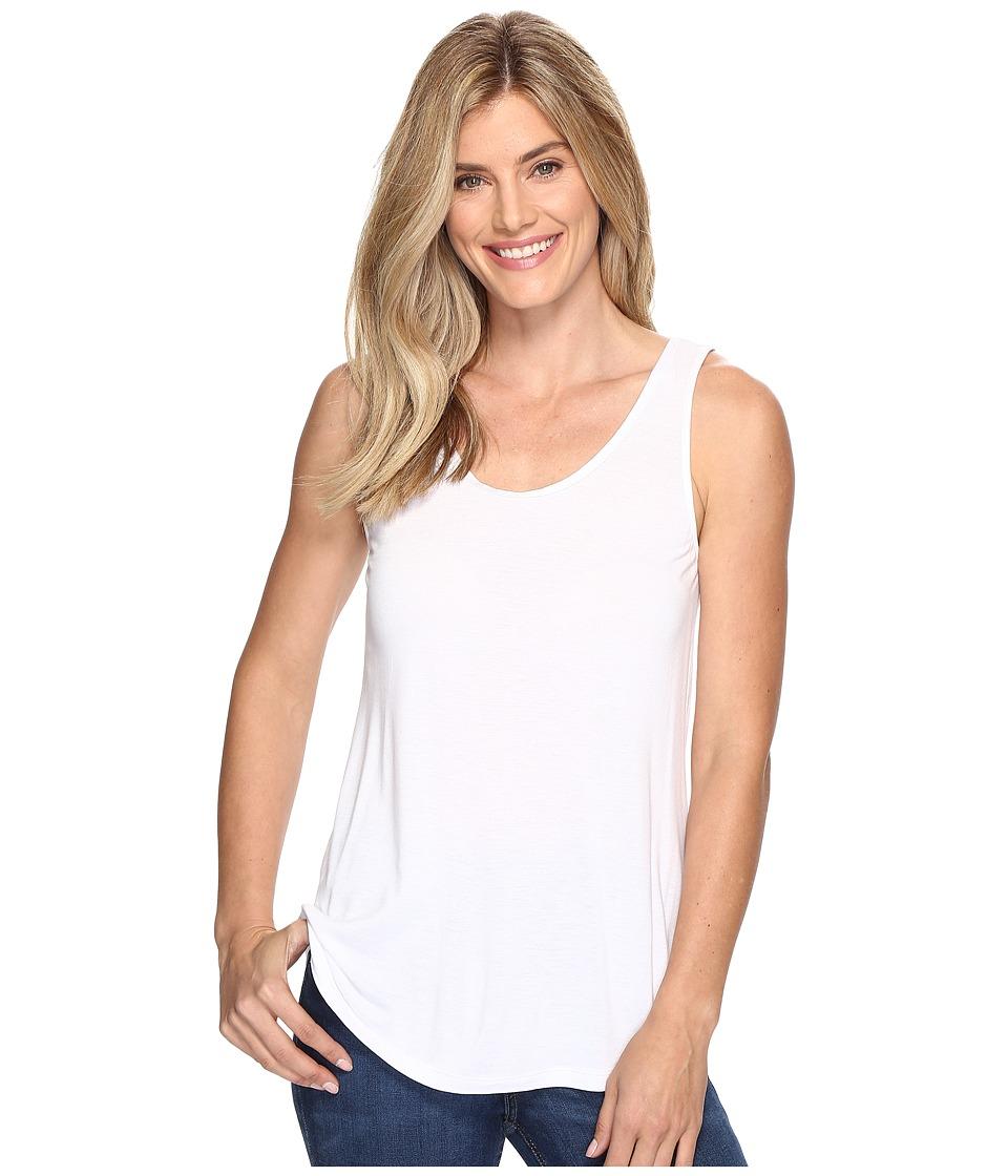 Nic+Zoe Coveted Layer Tank (Paper White) Women's Sleeveless