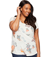 Lucky Brand - Plus Size Crazy Butterfly Tee