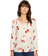 Lucky Brand - Major Floral Peasant Top
