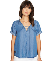 Lucky Brand - Lace-Up Top