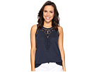 Lucky Brand - Embroidered Washed Tank Top