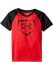 Under Armour Kids - Home Plate Logo Raglan Short Sleeve (Toddler)