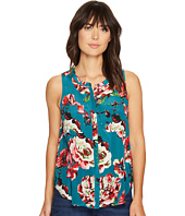 Lucky Brand - Exploded Floral Pintuck Tank Top