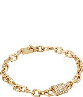 COACH - Pave Padlock Chain Bracelet