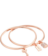 COACH - Lock and Key Bangle Set