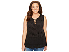 Lucky Brand - Plus Size Washed Studded Tank Top