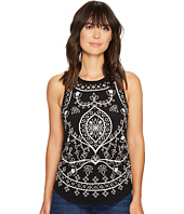 Lucky Brand - Embriodered Eyelet Tank Top