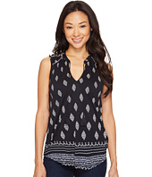 Lucky Brand - Diamond Printed Tank Top