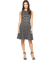 Calvin Klein - Laser Cut Flare Dress
