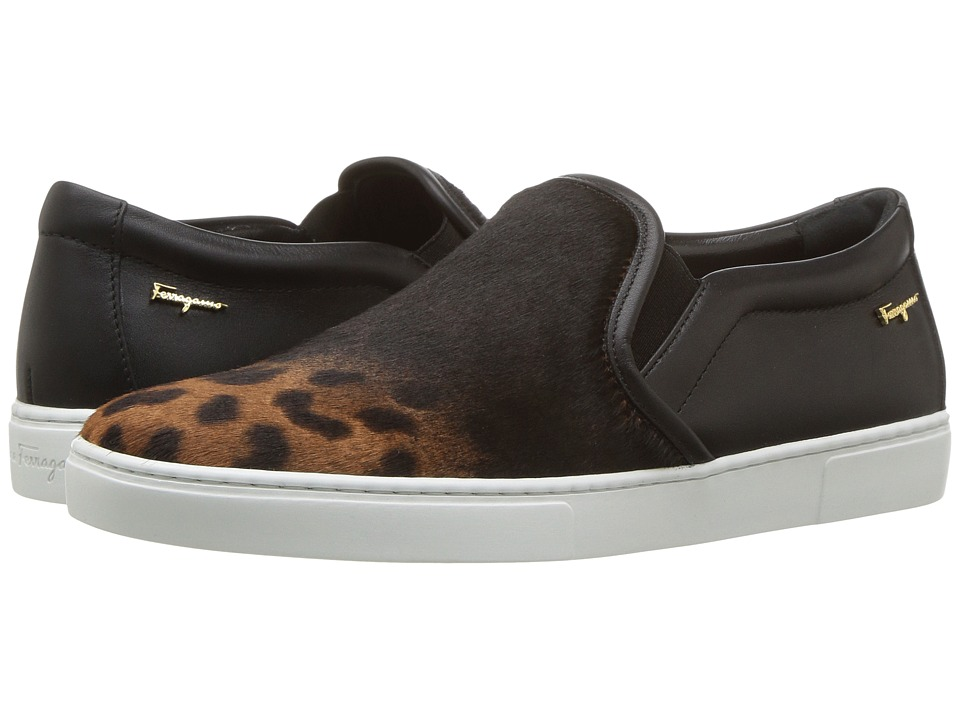Salvatore Ferragamo Salina P (Leopardo Camary 1082) Women