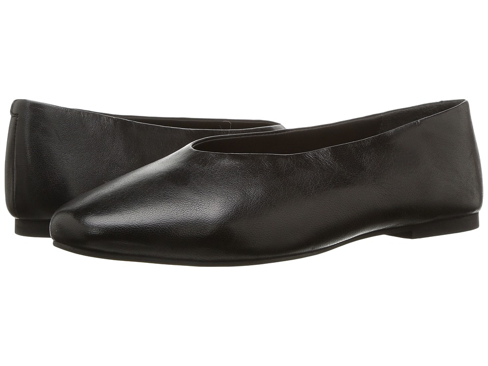 Retro Vintage Flats and Low Heel Shoes Seychelles - Backpacking Black Leather Womens Flat Shoes $95.00 AT vintagedancer.com