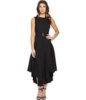 Calvin Klein - Belted Handkerchief Dress