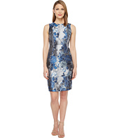 Calvin Klein - Brocade Sheath Dress