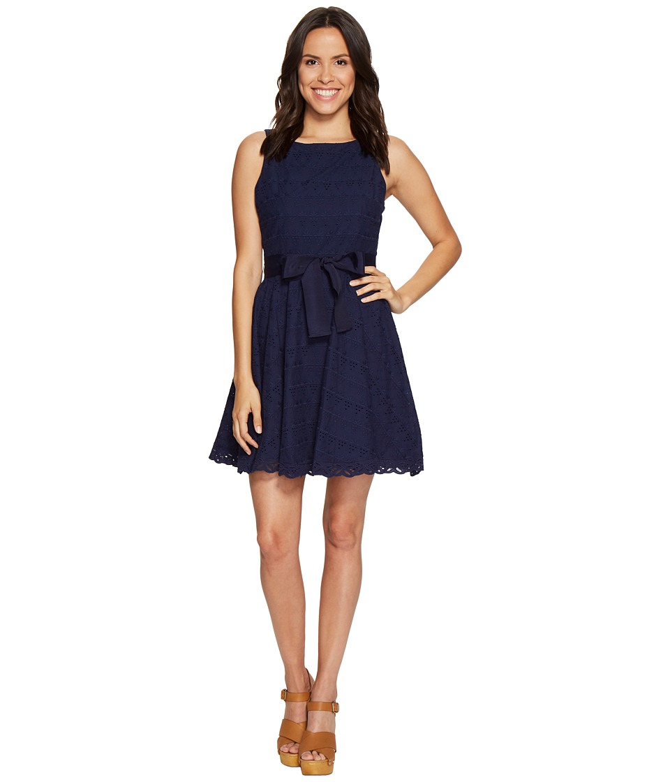 BB Dakota TY Eyelet Dress (Navy) Women